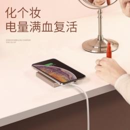绿联iPhone XS无线充电器 奢华款镜面无线充