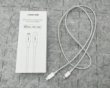 59元第三方绿联PD快充线和149原装线实测数据对比